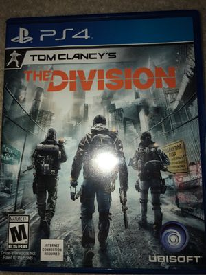 Tom Clancy's The Division PS4 for Sale in Rockville, MD