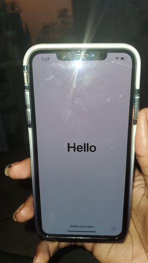 IPhone x pro 250 gb icloud locked 🔒 for Sale in Washington, DC