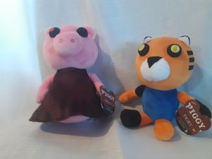 Piggy &Tigry plush for Sale in Newark, NJ