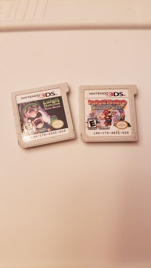 Nintendo 3DS games Mario for Sale in Crosby, TX