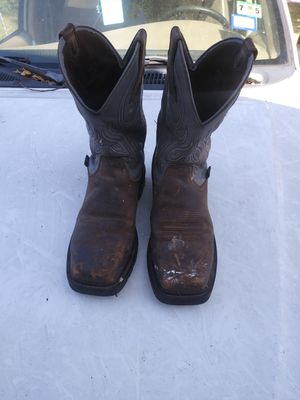 Steel Toe Work Boots for Sale in Mesquite, TX
