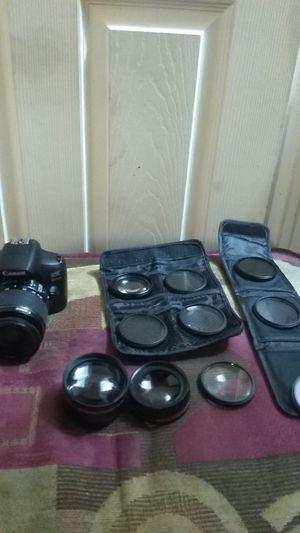 Canon rebel t6 & lenses kit for Sale in Bronx, NY