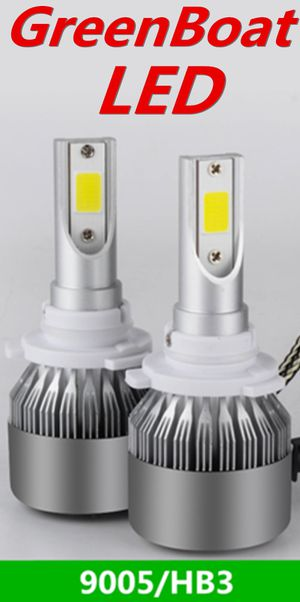 9005 HB5 LED Headlighht Bulb Kit Low Beam Fog Light 60W 6000K 7600LM US brand#GreenBoat for Sale in La Palma, CA