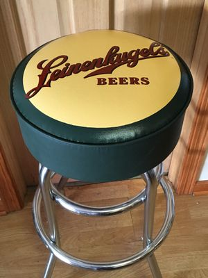 Leinenkugal Bar Stool - NEW - Green Sideband for Sale in Orland Park, IL