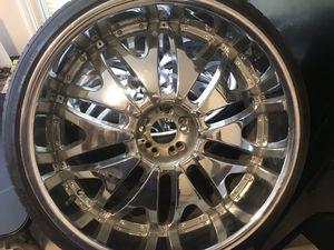 """Rines (ruedas) de Lujo 24"""" for Sale in Linden, NJ"""