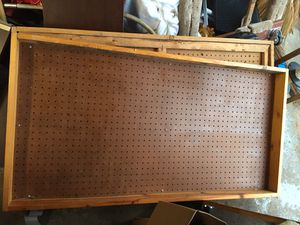 (2) 2x4 Pegboards for Sale in Elgin, IL