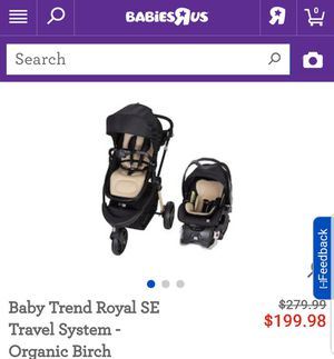 Baby Trend car seat/ stroller for Sale in Compton, CA
