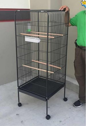 New in box 58 inches tall parakeet parrot bird cage with easy cleaning removable tray for Sale in Pico Rivera, CA