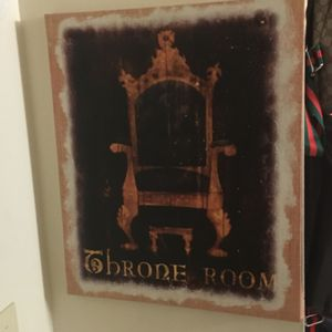 Throne Room Carvas Picture for Sale in Cleveland, OH