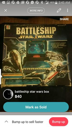 Electronic Battleship Star Wars game for Sale in Pittsburgh, PA