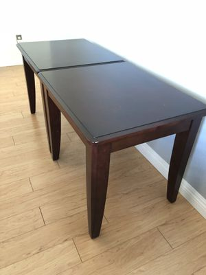 Two wooden side tables (or end tables) for Sale in San Jose, CA