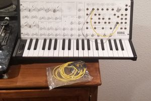 Korg ms 20 mini limited edition white for Sale in Denver, CO