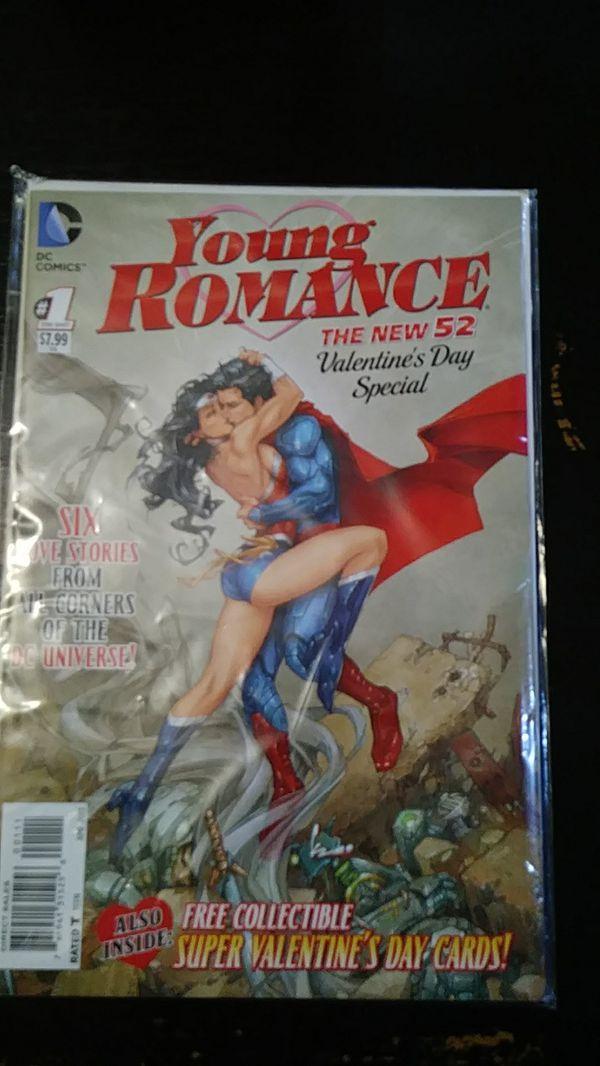 DC Comics young Romance