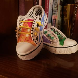 Custom Painted Kids Shoes $60 for Sale in South Gate, CA