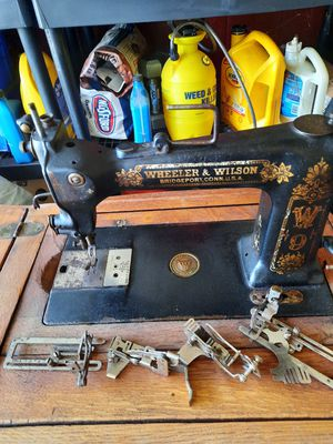 Wheeler and Wilson antique sewing machine for Sale in Cumming, GA