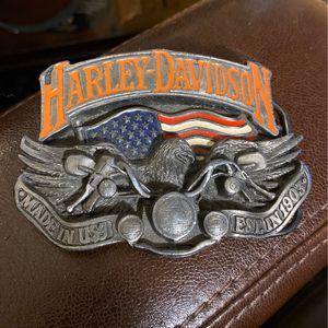 Harley Davidson Belt Buckle. for Sale in Baltimore, MD