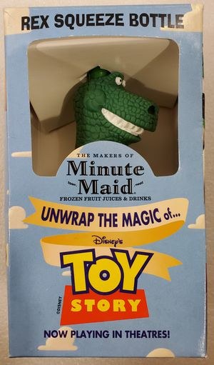 """Disney Pixar Toy Story-""""REX"""" Squeeze Bottle for Sale in Lakewood, WA"""