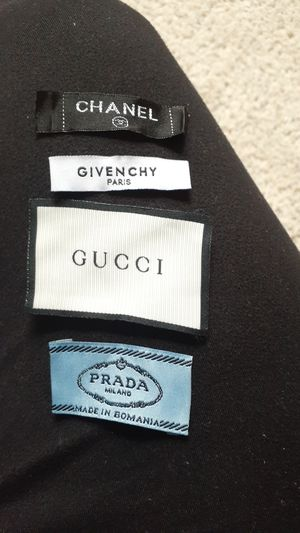 Gucci Givenchy Prada Chanel replacement tags for Sale in Fairfax, VA