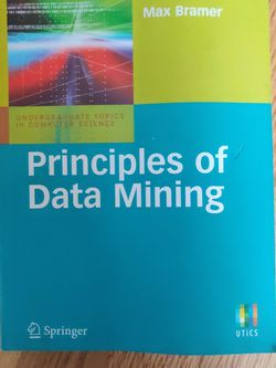 Principles Of Data Mining by Max Bramer for Sale in Brooklyn,  NY