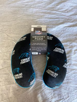 Carolina Panthers Travel Pillow Memory Foam for Sale in Phoenix, AZ