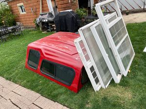 Windows and Camper for Truck for Sale in Crete, IL