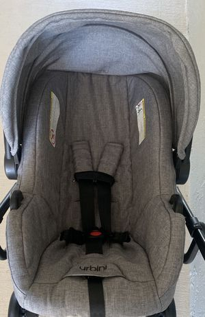 URBINI OMNI INFANT CARRIER/CARSEAT & BASE for Sale in Brandon, FL