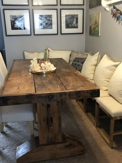 Beautiful Reclaimed Wood Dining Table for Sale in Santa Monica,  CA