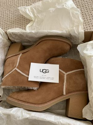 UGG ankle mid heel boots for Sale in Aldie, VA