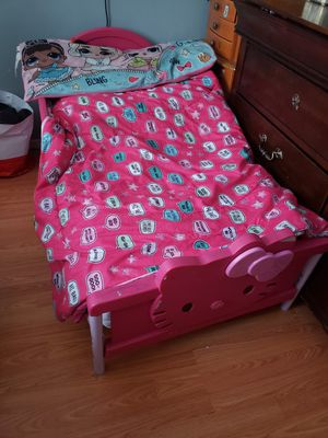 Hello kitty toddler bed for Sale in Monterey Park, CA