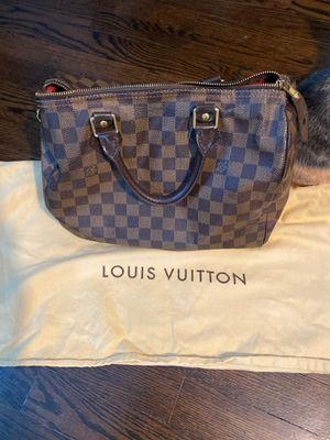 *Authentic* Louis Vuitton Speedy 25 Damier Date Code DU2028 for Sale in Newport News, VA
