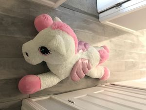 Unicorn Plush Toys Giant Stuffed Animal Horse Toys for Children Soft for Sale in Sacramento, CA