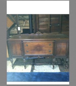 Antique Buffet Cabinet for Sale in Reading, MA