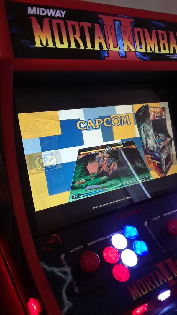Mortal kombat bartop arcade play over 16,000 games