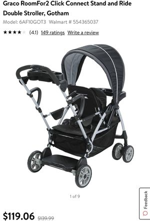 (Brand New) Gotham collections Double Stroller for Sale in Peoria, AZ