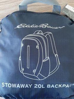 Eddie Bauer 20L Stowaway Backpack for Sale in Macon,  GA