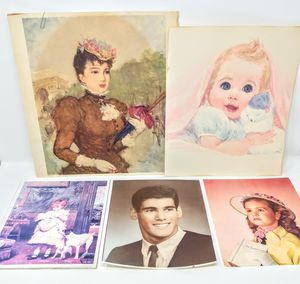 Lot of Vintage Portait Prints and Photo for Sale in Monroe, WA