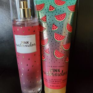 Bath & body works Pink Watermelon lotion mist for Sale in Colton, CA