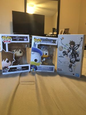 Kingdom Hearts toys for Sale in Phoenix, AZ