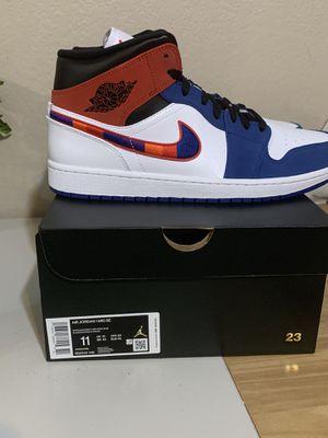 Jordan 1 mid SE muti-swoosh size 11 for Sale in Fresno, CA