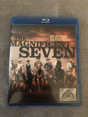 The Magnificent Seven Original Blu-ray for Sale in Tampa, FL