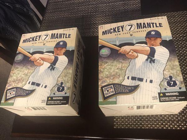 Both Mickey mantle figures for $50 bucks !!!