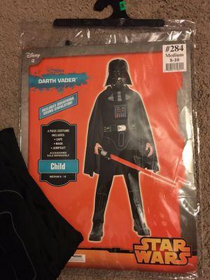 Darth Vader costume child size 8-10 for Sale in Tampa, FL