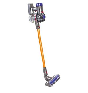 CASDON Little Helper Dyson Cord-Free Vacuum Cleaner Toy, Grey, Orange and Purple for Sale in Glendale, AZ