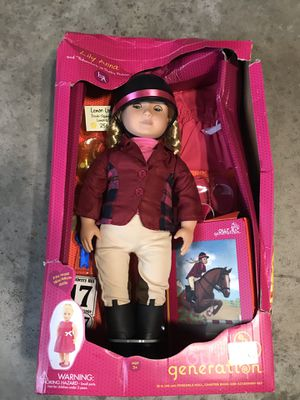Our generation lily deluxe doll for Sale in Shakopee, MN