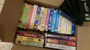 Childrens and other V H S video movie tapes for Sale in Bella Vista, AR