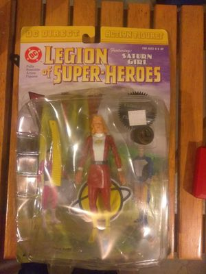 Saturn girl action figure for Sale in Dallas, TX