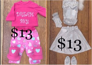 """Complete Outfits for 18"""" Dolls; American Girl, Journey, Battat etc..). The Queen's Treasure Brand NEW for Sale in Las Vegas, NV"""