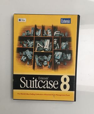 Suitcase 8 software for Mac for Sale in San Diego, CA