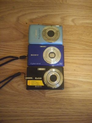 3 digital cameras for Sale in Randleman, NC