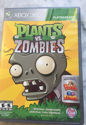 Xbox 360 Plants vs Zombies video game for Sale in Portland, OR